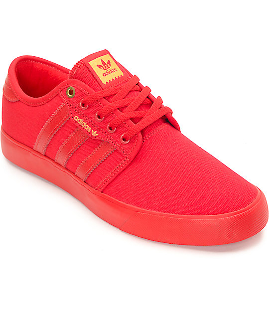 adidas shoes in red